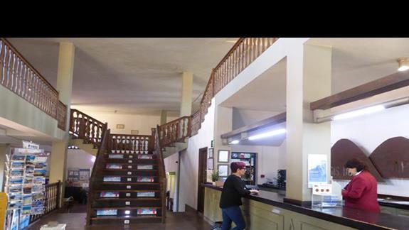 Recepcja w hotelu Oasis Dunas