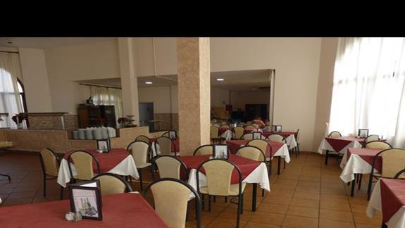 Restauracja w hotelu Oasis Dunas