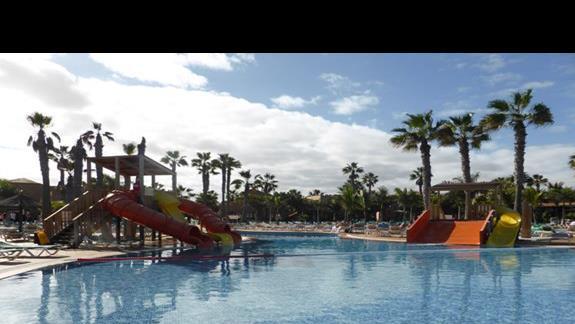 Basen w hotelu Oasis Dunas