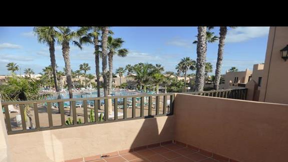 Balkon w hotelu Oasis Dunas