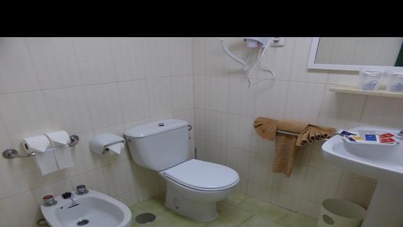 Łazienka w hotelu SBH Jandia Resort