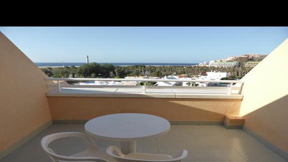 Balkon w hotelu SBH Jandia Resort