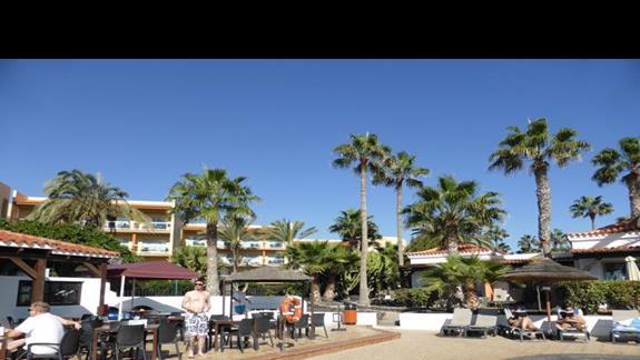 Teren hotelu Barcelo Castillo Beach Resort