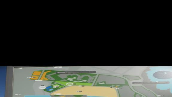 Plan hotelu Barcelo Castillo Beach Resort