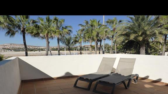Balkon w hotelu Barcelo Castillo Beach Resort