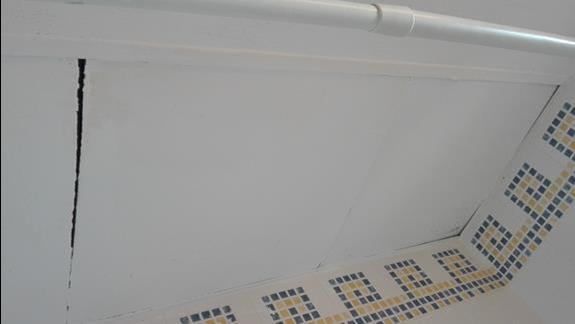 Łazienka - rozwalo ny sufit i pleśń