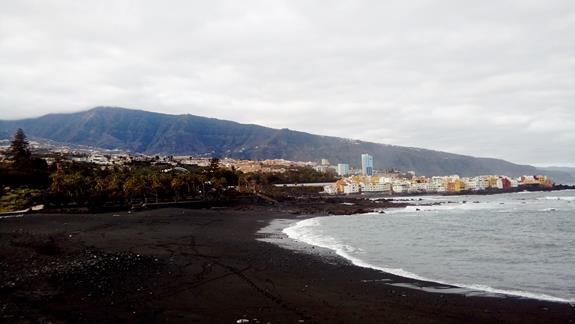 Najpiekniejsza plaza Puerto de La Cruz