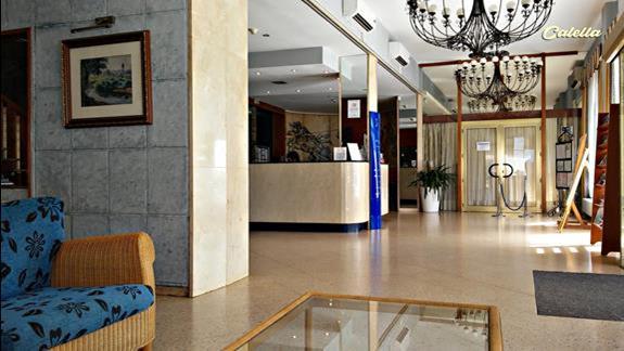 Hotelowa recepcja i hol