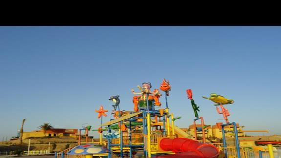 El Malikia Resort Abu Dabbab - zjeżdżalnie wodne