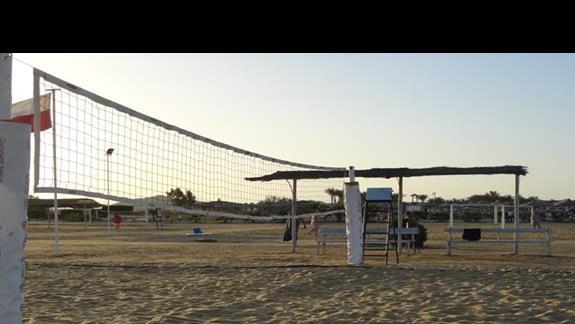 El Malikia Resort Abu Dabbab - boisko do siatkówki