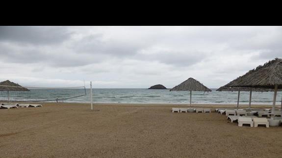 Plaża przy hotelu Royal Beach