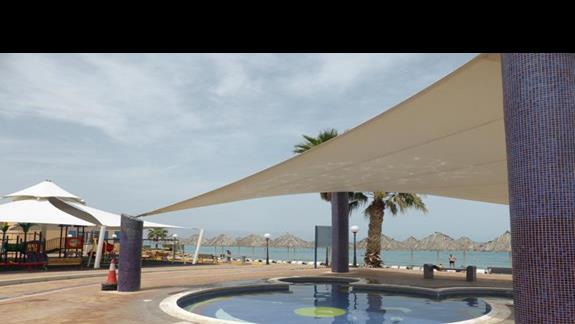 Brodzik w hotelu Royal Beach