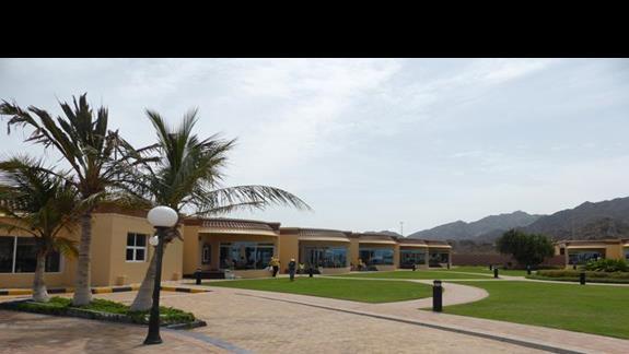 Teren hotelu Royal Beach