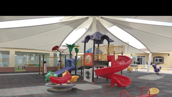 Plac zabaw w hotelu Royal Beach