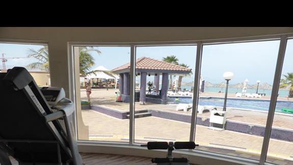 Siłownia w hotelu Royal Beach