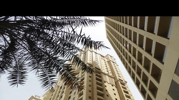 Widok w hotelu Amwaj Rotana Jumeirah Beach