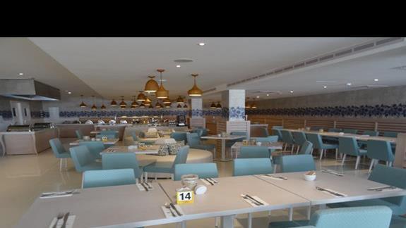 Restauracja glówna w hotelu Odessa