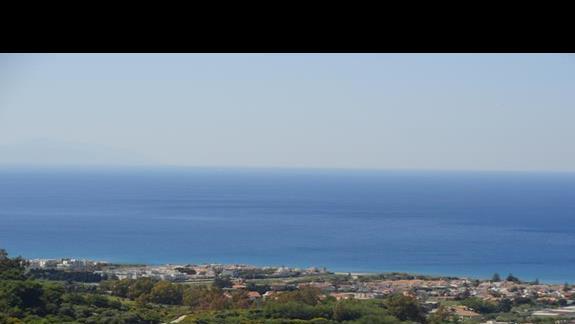 Il Parco Degli Ulivi - widok na morze