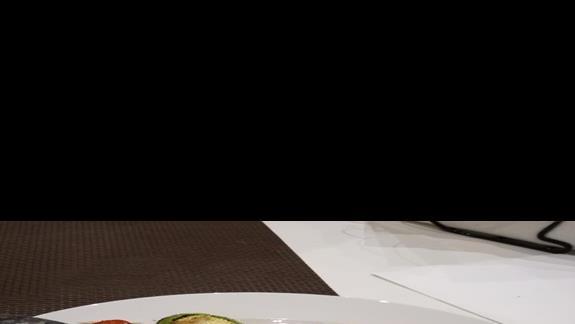 Le Dune Beach Club - posiłek w restauracji