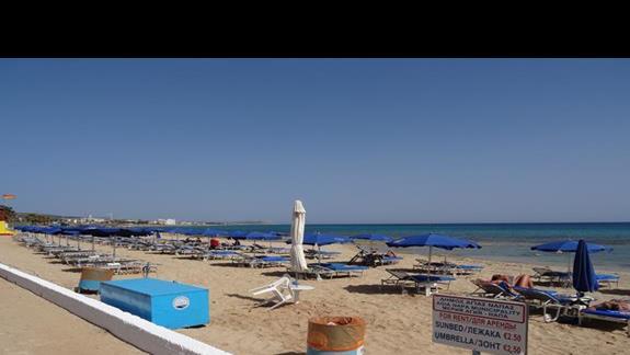 Plaża przy hotelu Castillo Village
