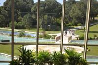 Hotel Rixos Premium - Widok z holu hotelowego