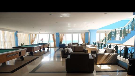 lobby w hotelu Belvedere Imperial