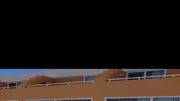 taras pokój standardowy  w hotelu Belvedere Imperial