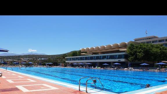 basen  w hotelu Belvedere Imperial