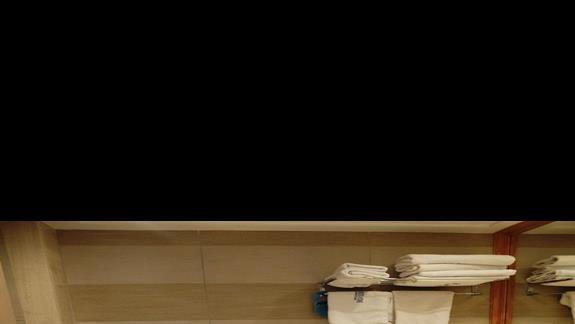 łazienka w pokoju superior  w hotelu Belvedere Imperial