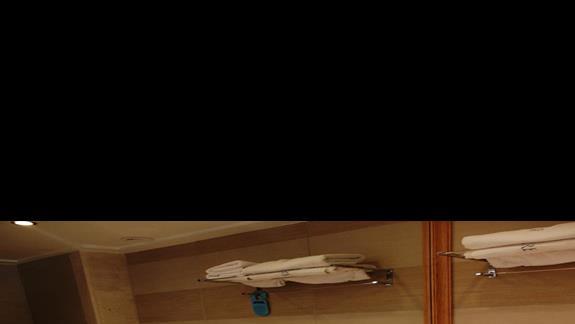 łazienka w pokoju standardowym  w hotelu Belvedere Imperial