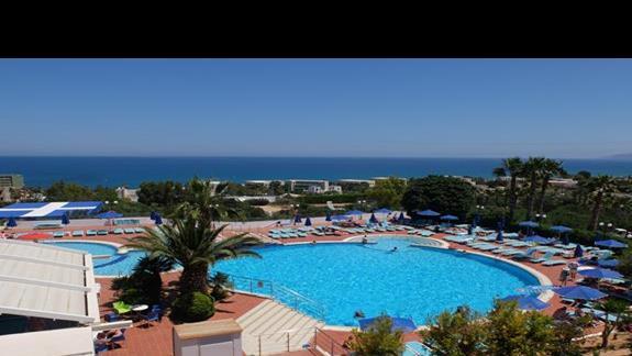 basen rekreacyjny  w hotelu Belvedere Imperial