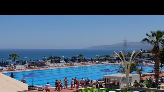 basen w hotelu Belvedere Royal