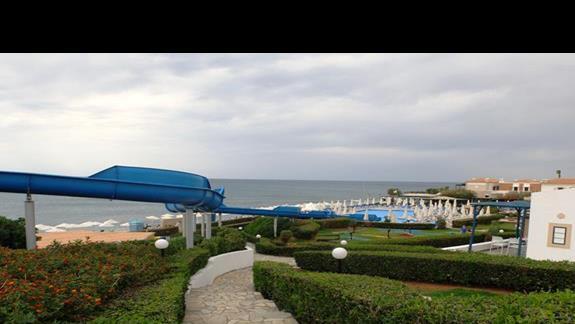 zjeżdżalnia w hotelu Aldemar Cretan Village