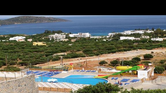 zjeżdżalnie w hotelu Elounda Waterpark