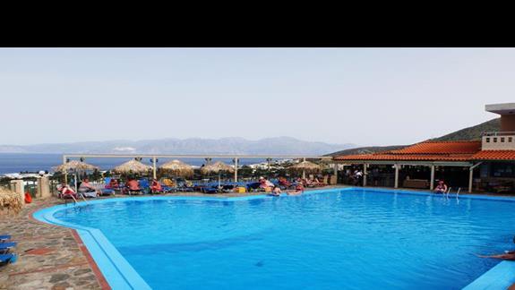 basen w hotelu Elounda Waterpark