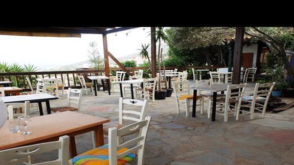 restauracja w hotelu Elounda Waterpark