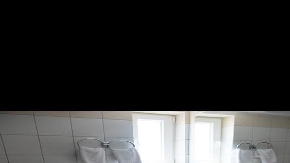 łazienka w pokoju rodzinnym w hotelu Iberostar Creta Panorama