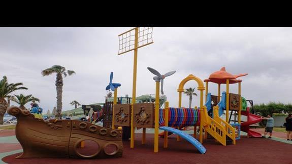 plac zabaw w hotelu Lyttos Beach