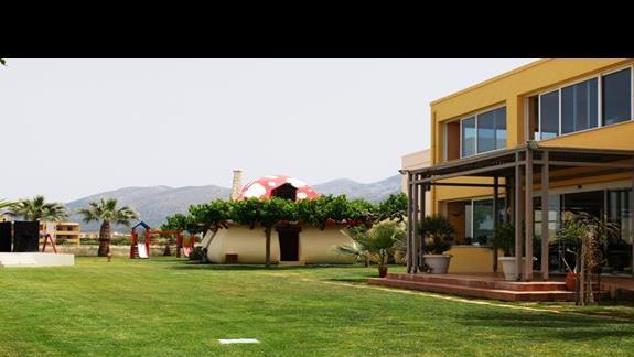 teren hotelu Meropi