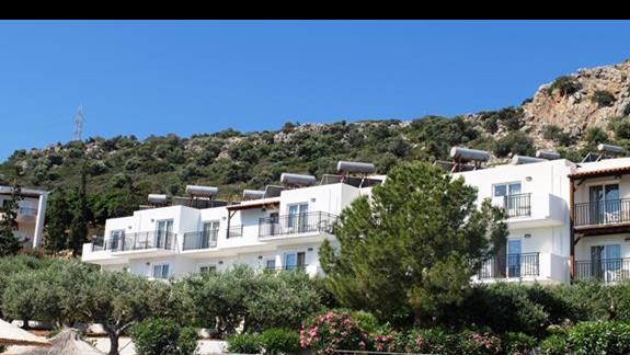 budynki hotelu Semiramis Village