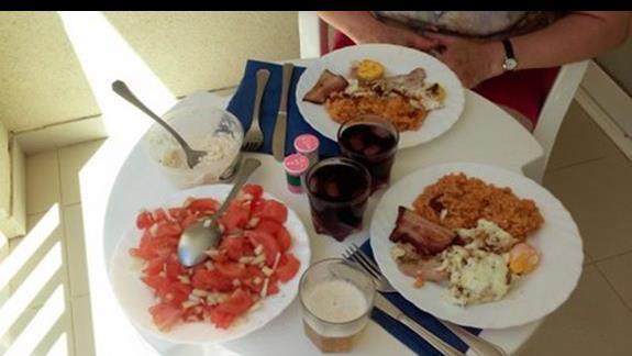 Nasz własny,  szybki i łatwy obiad na balkonie