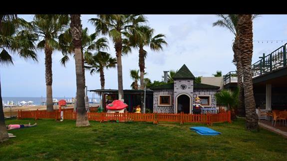 Plac zabaw w hotelu Galeri Resort