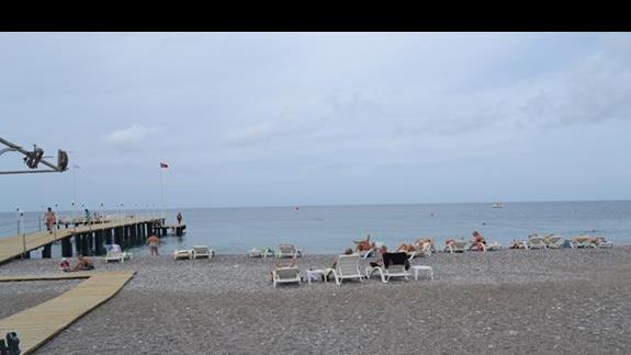 Plaża przy  hotelu Galeri Resort