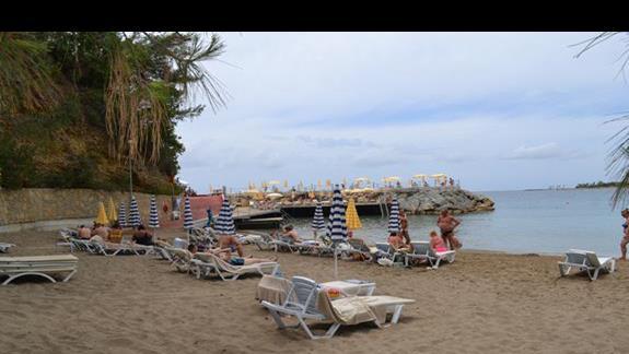 Plaża przy hotelu Incekum West