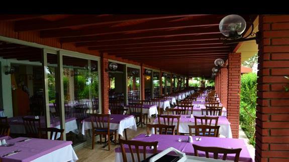 Restauracja w hotelu Incekum West