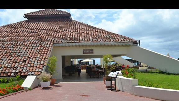 Snack bar w hotelu Otium Seven Seas
