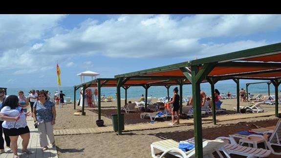 Plaża w hotelu Otium Seven Seas