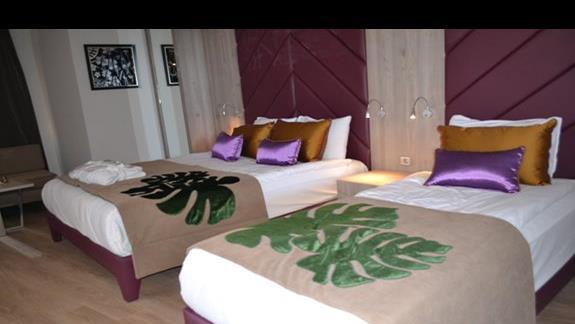 Pokój rodzinny w hotelu Delphin Be Grand