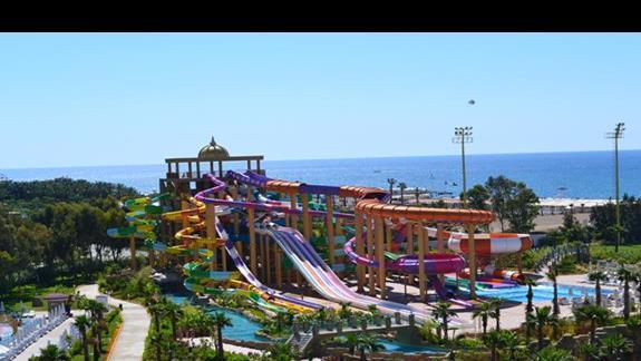 Aquapark w hotelu Delphin Be Grand