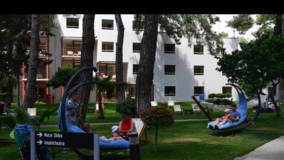 Strefa wypoczynkowa w hotelu Otium Life